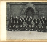 Rossall School Choir Photograph 1913