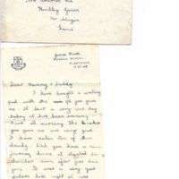 First Term Letters Home 1949 (3)