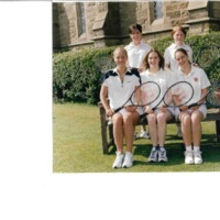 Senior Tennis Team Photograph 2000