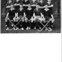 Mitre Fleur de Lys House Hockey Team Photograph