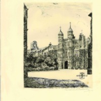 Original Prints of Rossall School- Late 1960's