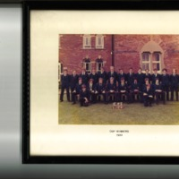 Falcon House Cup Winners Photograph 1981