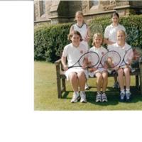U13 Ladies Tennis Team Photograph 2000