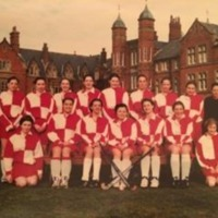 Girls Hockey Team Photograph circa 1995