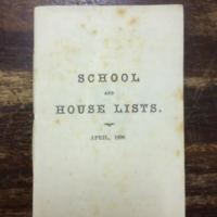 School and House Lists