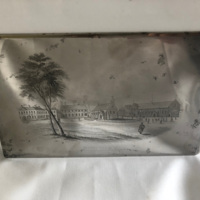 Silver Printing Plate from 1858