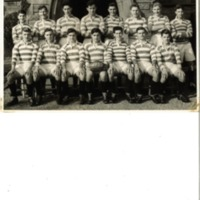 Second XV Rugby Team Photograph 1955