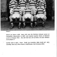 Football Seven a-side team Photograph 1947