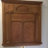 Cresent Honours Board Photograph