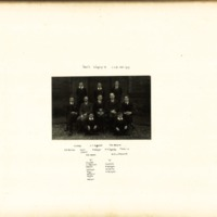 Spread Eagle Singing Cup Eight Cup Winners Photograph 1929