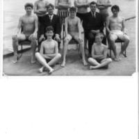 Swimming Team Photograph 1961