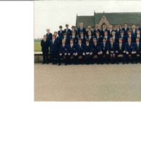 1987 Swimming Team