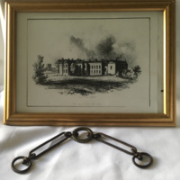 Original Chain from Rossall Hall door (circa 1824) when still owned by Sir Peter Hesketh- Fleetwood.