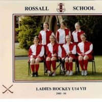 Ladies Hockey U14 VII Team Photograph