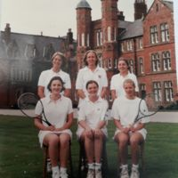 Girls Tennis 1996
