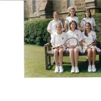 U14 Ladies Tennis Team Photograph 2000