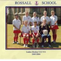 Ladies Hockey U13 VII Team Photograph 2005/6
