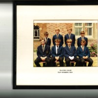Falcon House Cup Winners Photograph 1984