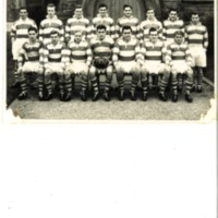 1st Rugby Team Photograph 1957