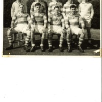 Seven-a-side Rossall Team Photograph 1957