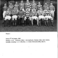 School 2nd XV Rugby Team 1946