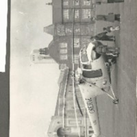 RAF Search and Rescue Helicopter Photograph 1950s