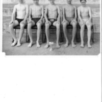 Swimming Team Photograph 1964<br /><br /> Winners of the Junior I.S.S.A. Swimming