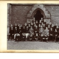 Rossall School Choir Photograph 1911