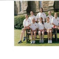 Athletics Team Photograph 2000