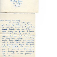 First Term Letters Home 1949 (2)